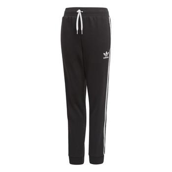 tekstylia Dziecko Spodnie dresowe adidas Originals TREFOIL PANTS Czarny