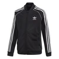 tekstylia Dziecko Bluzy dresowe adidas Originals SST TRACKTOP Czarny
