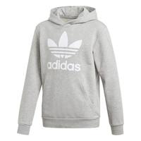 tekstylia Chłopiec Bluzy adidas Originals TREFOIL HOODIE Szary