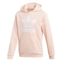tekstylia Dziewczynka Bluzy adidas Originals TREFOIL HOODIE Różowy