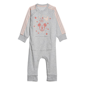 tekstylia Dziewczynka Piżama / koszula nocna adidas Performance INF DY MM ONE Biały