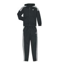 tekstylia Chłopiec Zestawy dresowe adidas Performance JB COTTON TS Czarny