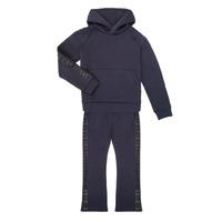 tekstylia Dziewczynka Zestawy dresowe Emporio Armani 6H3V01-1JDSZ-0920 Marine