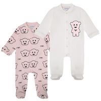 tekstylia Dziewczynka Piżama / koszula nocna Emporio Armani 6HHV06-4J3IZ-F308 Różowy