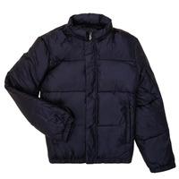 tekstylia Chłopiec Kurtki pikowane Emporio Armani 6H4BL1-1NLSZ-0920 Marine