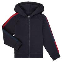 tekstylia Chłopiec Bluzy Emporio Armani 6H4ME2-4J3BZ-0922 Marine