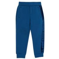 tekstylia Chłopiec Spodnie dresowe Emporio Armani 6H4P84-1JDSZ-0975 Marine