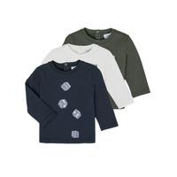 tekstylia Chłopiec T-shirty z długim rękawem Emporio Armani 6HHD21-4J09Z-0564 Wielokolorowy