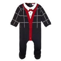 tekstylia Chłopiec Piżama / koszula nocna Emporio Armani 6HHD12-4J3WZ-F912 Marine