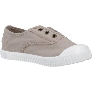 Buty Chłopiec Trampki niskie Victoria 106627 Beżowy