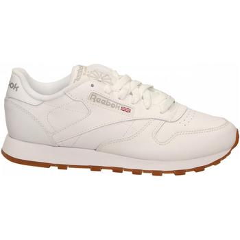 Buty Damskie Fitness / Training Reebok Sport CL LTHR white-gum