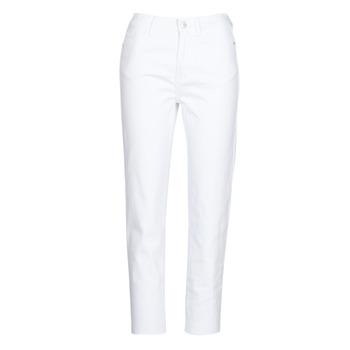 tekstylia Damskie Spodnie z pięcioma kieszeniami Only ONLEMILY Biały