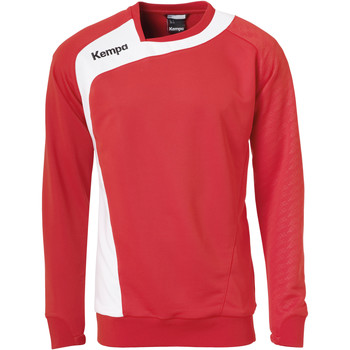 tekstylia Dziecko Bluzy Kempa Training top  Peak rouge/blanc