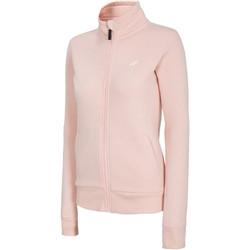 tekstylia Damskie Bluzy 4F Women's Sweatshirt NOSH4-BLD003-56S Różowe