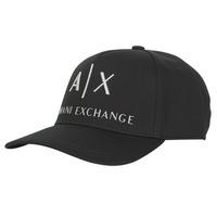 Dodatki Męskie Czapki z daszkiem Armani Exchange 954039-CC513-00020 Czarny