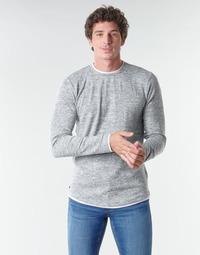 tekstylia Męskie T-shirty z długim rękawem Deeluxe MOHANSON Szary