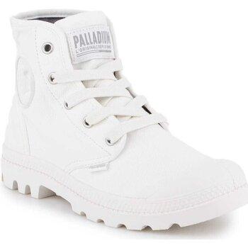Buty Damskie Trampki wysokie Palladium US Pampa HI F 92352-116-M biały