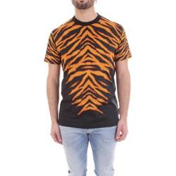 tekstylia Męskie T-shirty z krótkim rękawem Versace B3GVB7DF-30377 Czarny