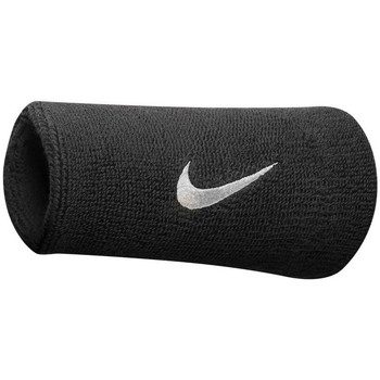 Dodatki Akcesoria sport Nike Poignets éponge  swoosh doublewide noir