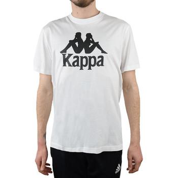 tekstylia Męskie T-shirty i Koszulki polo Kappa Caspar T-Shirt 303910-11-0601 Białe
