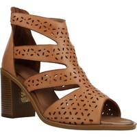 Buty Damskie Sandały Carmela 67133C Brązowy