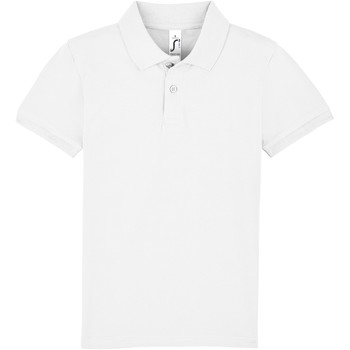 tekstylia Dziecko Koszulki polo z krótkim rękawem Sols PERFECT KIDS COLORS Blanco