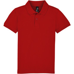 tekstylia Dziecko Koszulki polo z krótkim rękawem Sols PERFECT KIDS COLORS Rojo