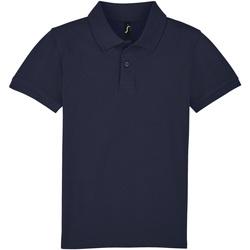 tekstylia Dziecko Koszulki polo z krótkim rękawem Sols PERFECT KIDS COLORS Azul