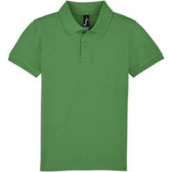 tekstylia Dziecko Koszulki polo z krótkim rękawem Sols PERFECT KIDS COLORS Verde
