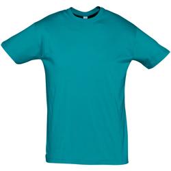 tekstylia Męskie T-shirty z krótkim rękawem Sols REGENT COLORS MEN Azul