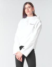 tekstylia Damskie Bluzy Champion HEAVY COMBED COTTON FLEECE Biały