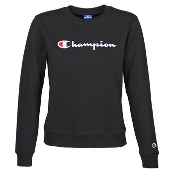 tekstylia Damskie Bluzy Champion HEAVY COMBED COTTON FLEECE Czarny
