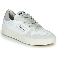 Buty Damskie Trampki niskie Meline STRA-A-1060 Biały / Beżowy