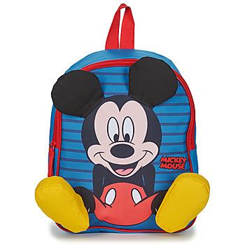 Torby Chłopiec Plecaki Disney BACKPACK MICKEY Wielokolorowy