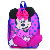 Torby Dziewczynka Plecaki Disney BACKPACK MINNIE Różowy