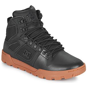 Buty Męskie Trampki wysokie DC Shoes PURE HIGH TOP WR BOOT Czarny