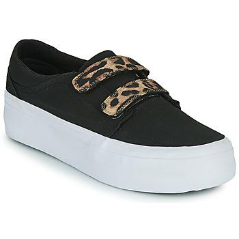 Buty Damskie Trampki wysokie DC Shoes TRASE PLATEFORM V Czarny / Leopard