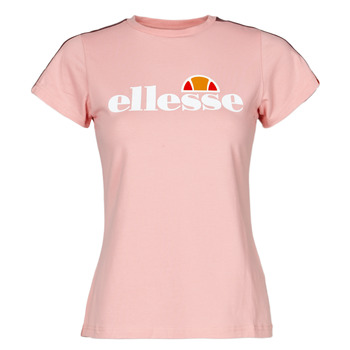 tekstylia Damskie T-shirty z krótkim rękawem Ellesse MALIS Różowy