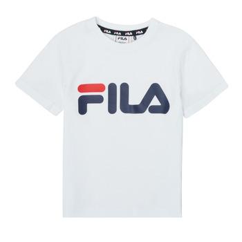 tekstylia Dziecko T-shirty z krótkim rękawem Fila LEA Biały