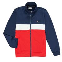 tekstylia Chłopiec Bluzy dresowe Fila MANOLO Marine / Biały / Czerwony