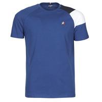 tekstylia Męskie T-shirty z krótkim rękawem Le Coq Sportif ESS TEE SS N°10 M Niebieski