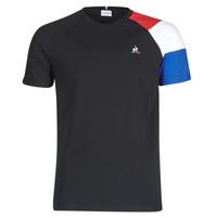 tekstylia Męskie T-shirty z krótkim rękawem Le Coq Sportif ESS TEE SS N°10 M Czarny
