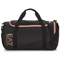 Torby Damskie Torby sportowe Emporio Armani EA7 TRAIN CORE U GYM BAG SMALL Czarny / Różowy