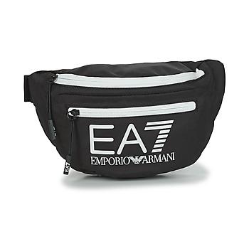 Torby Biodrówki Emporio Armani EA7 TRAIN CORE U SLING BAG Czarny / Biały