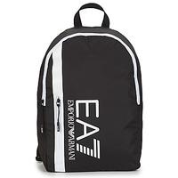 Torby Męskie Plecaki Emporio Armani EA7 TRAIN CORE U BACKPACK B Czarny / Biały