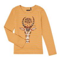 tekstylia Dziewczynka T-shirty z długim rękawem Ikks XR10102 Brązowy