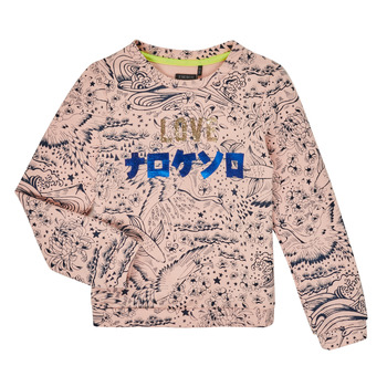 tekstylia Dziewczynka Bluzy Ikks XR15022 Różowy