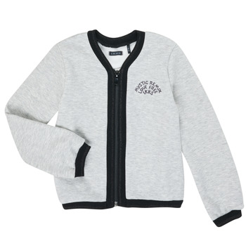 tekstylia Dziewczynka Swetry rozpinane / Kardigany Ikks XR17062 Szary