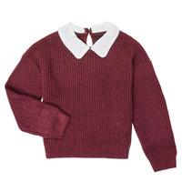 tekstylia Dziewczynka Swetry Ikks XR18062 Fioletowy