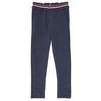 tekstylia Dziewczynka Spodnie z pięcioma kieszeniami Ikks XR23002 Niebieski